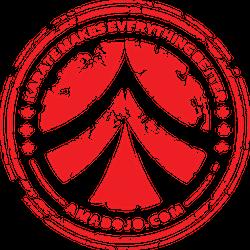 AMA Grunge logo
