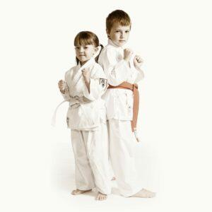 Kids karate students