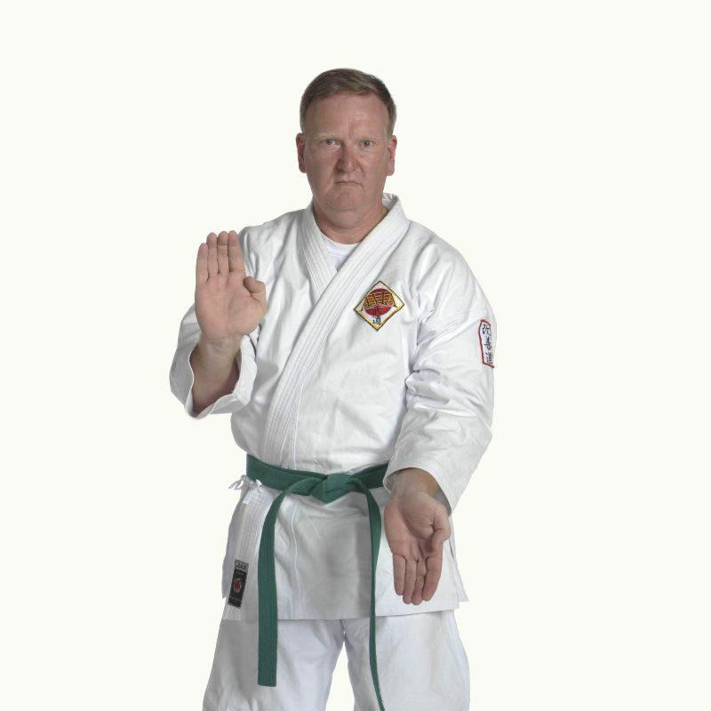 Adult Karate Student
